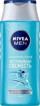 Nivea Men Шампунь-уход Экстремальная Свежесть 250мл